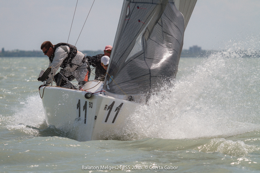 Balaton Melges 24 Spring Regatta - Peter Czegai and Jedi Business (HUN-481) - ph