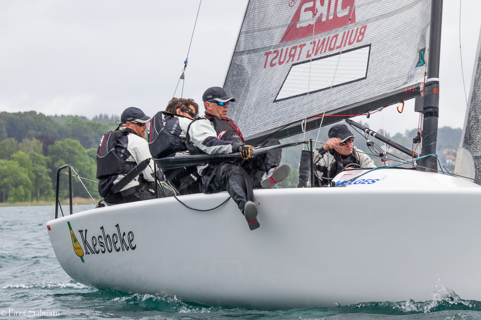 Eelco Blok's Kesbeke/SIKA/Gill team NED827 with Ronald Veraar helming - photo Pi