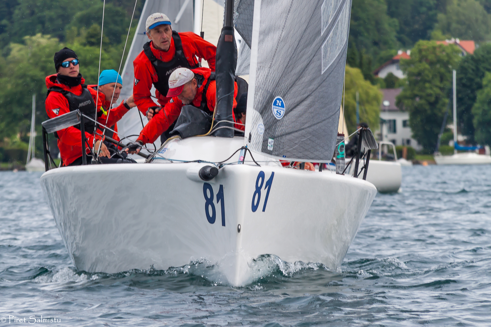 Kicker Schäfer/Eddy Eich's team Musto Racing GER803 - photo Piret Salmistu