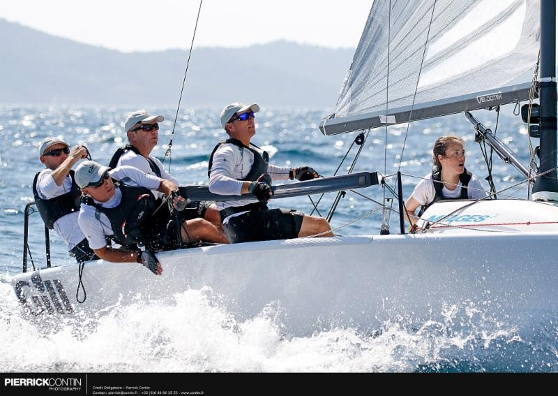 Miles Quinton's Gill Race Team GBR694 with Geoff Carveth helming - photo Pierric
