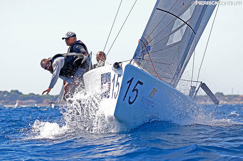 Christophe Barrue's Euro-Voiles FRA639 - photo Pierrick Contin