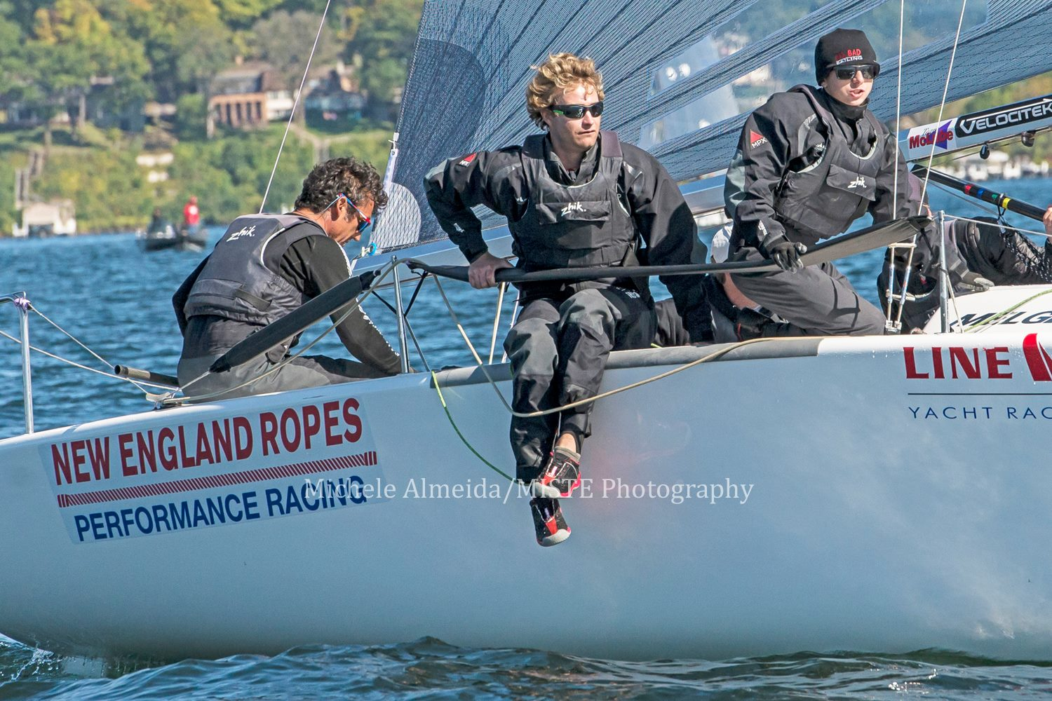 Bora Gulari's team (USA820) at the 2016 Line Honors Melges 24 U.S. Nationals