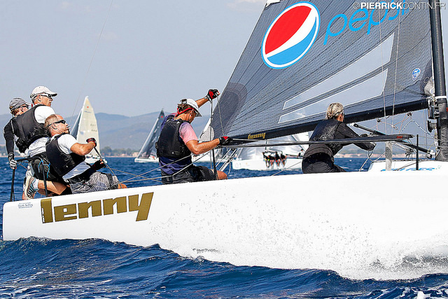 Tõnu Tõniste's LENNY (EST790) at the 2016 Marinepool Melges 24 Europeans