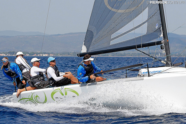 Andrea Racchelli's ALTEA (ITA735) at the 2016 Marinepool Melges 24 Europeans