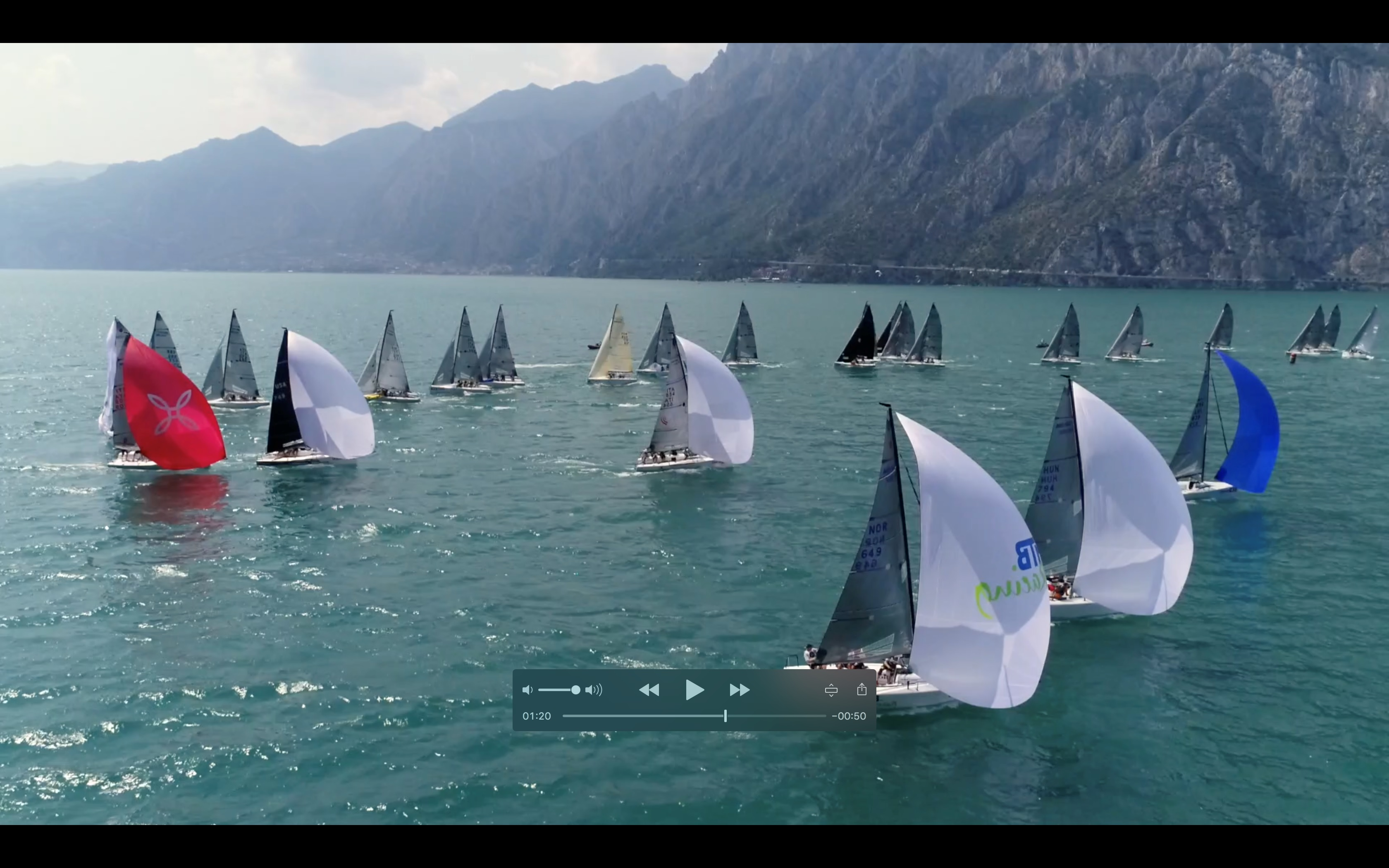 Melges 24 Europeans 2018 - Day 1 video - ZGN