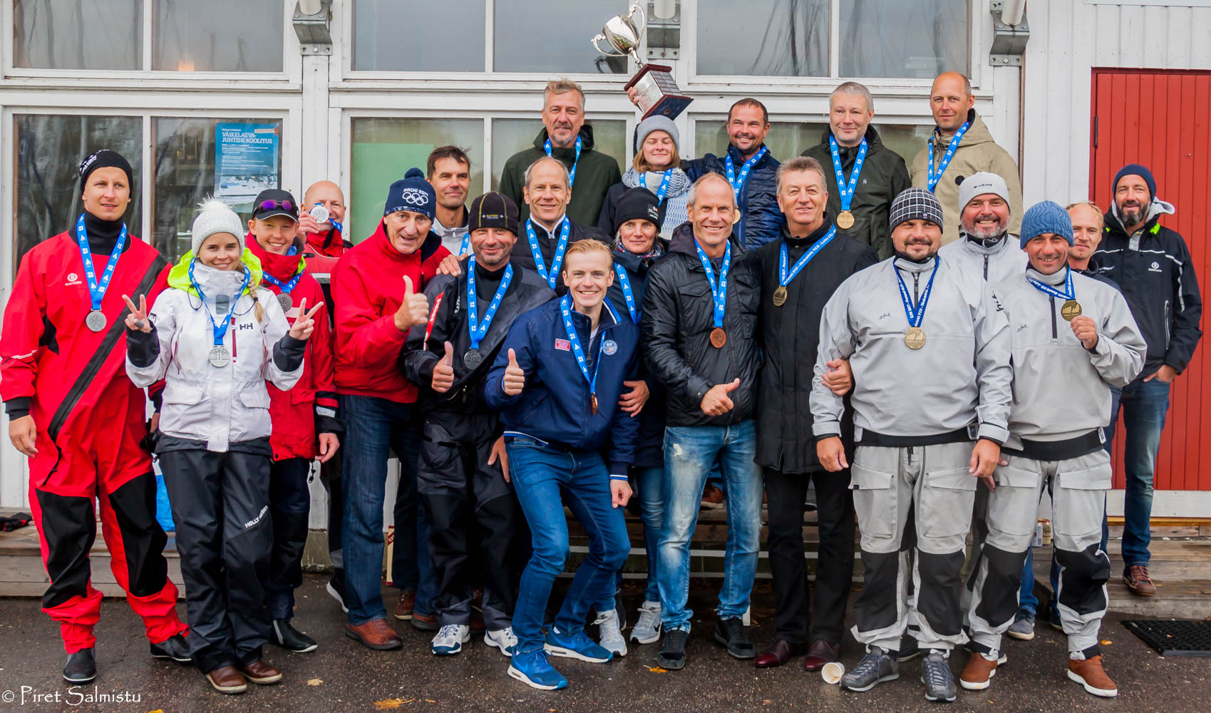 Melges 24 teams in Tallinn - Photo Piret Salmistu