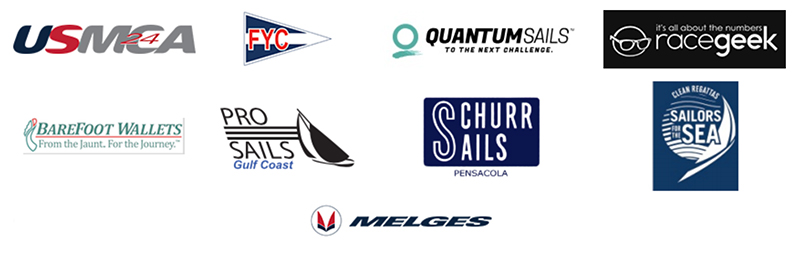 Melges 24 US Nationals logos