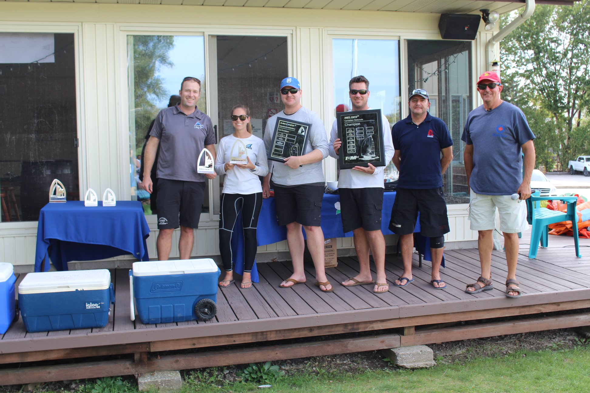 2019 Melges 24 Canadian National Champions