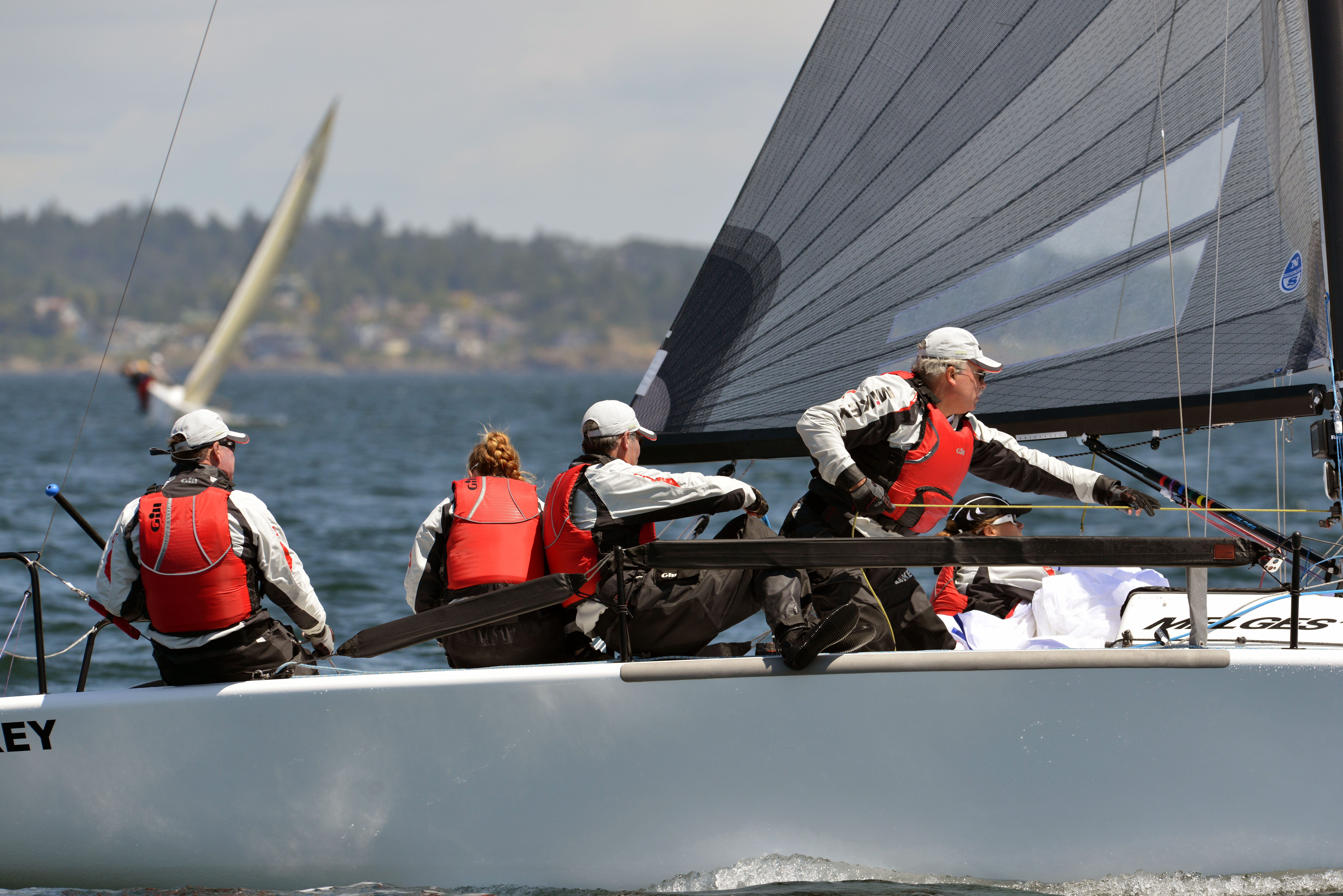1st_Mickey_Black_Hoisting - 2014 Melges 24  Canadian National Championship