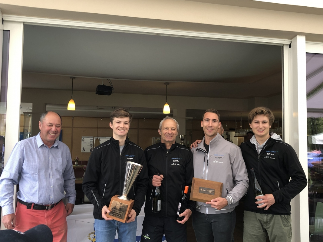 White Room GER677 - Michael Tarabochia, Luis Tarabochia, Marco Tarabochia, Sebastian Bühler - the winner of the 2020 Sportboot-Cup and Edelweiss Trophy Melges 2020 in Austria