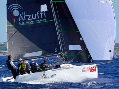 Maidollis ITA854 of Gian Luca Perego - Melges 24 World Champion 2019