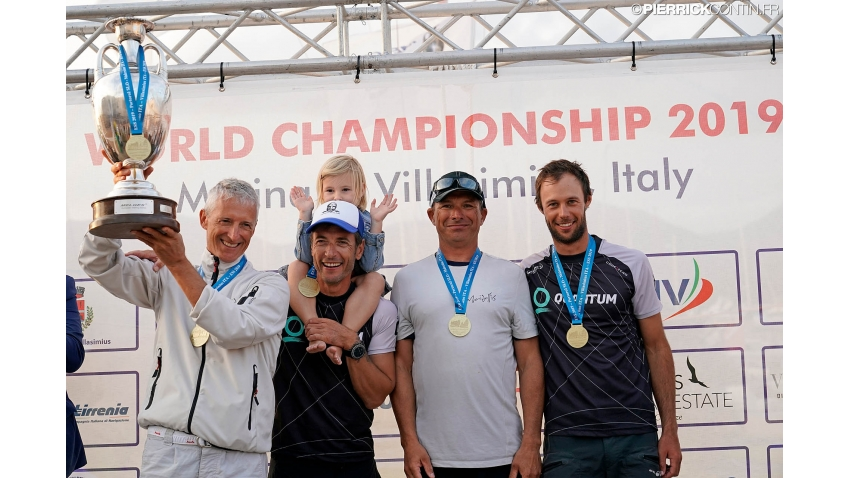 2019 - The winner of the Melges 24 European Sailing Series Trophy - Melges 24 World Champion - Maidollis ITA854 of Gianluca Perego with Carlo Fracassoli at the helm and Enrico 'Chicco' Fonda, Stefano Lagi, Matteo Ramian as crew