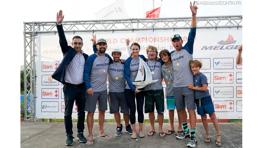 2019 Melges 24 Worlds second best – Monsoon USA851 of Bruce Ayres