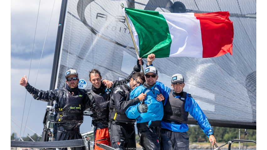Altea ITA722 of Andrea Racchelli - Melges 24 World Champion 2018