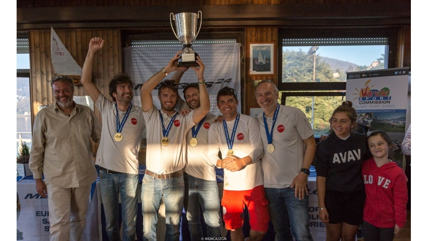 Taki 4 ITA778  - Corinthian Winner of the 2017 Melges 24 European Sailing Series