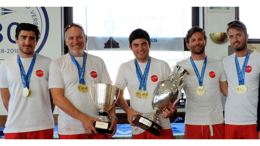 Taki 4 ITA778 - the winner of the 2018 Melges 24 European Sailing Series
