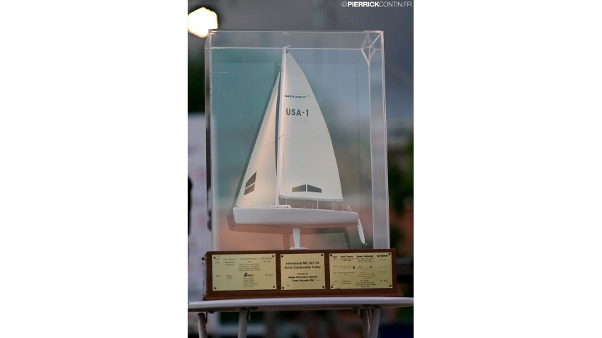 The Melges Performance Sailboats Trophy - perpetual trophy for the Melges 24 World Championship winner