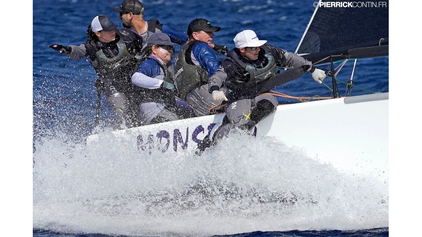 Monsoon of Bruce Ayres at the 2019 Melges 24 World Championship in Villasimius, Sardinia, Italy