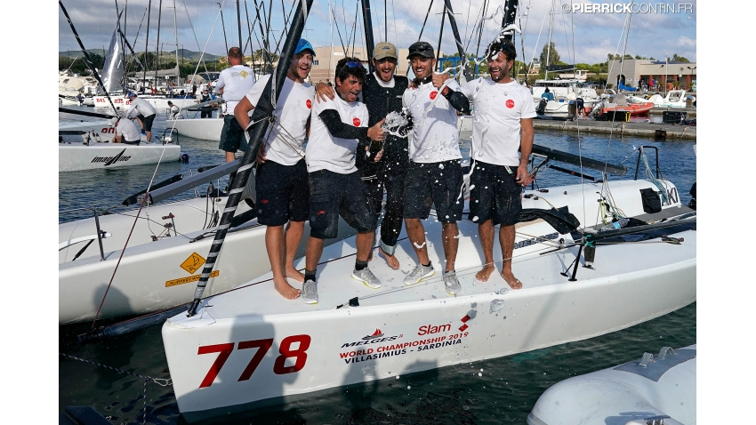2019 Melges 24 Corinthian World Champion - Taki 4 of Marco Zammarchi with Niccolo Bertola at the helm