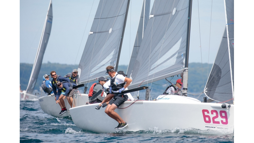 Canadian Melges 24 Class President Dan Berezin on his Surprise CAN629 at the North American Championship 2019