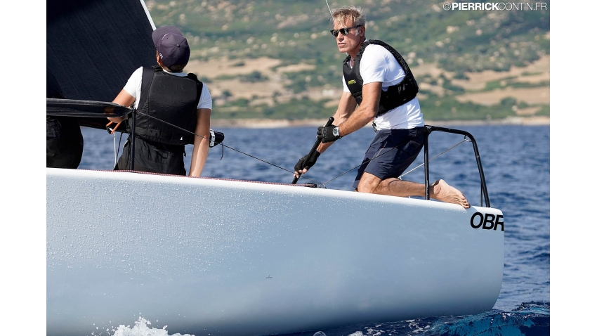 Paolo Brescia, the owner of Melgina ITA693 - 7th overall at the Melges 24 Worlds 2019 in Villasimius, Italy