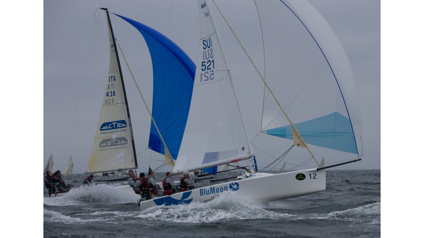 Blu Moon SUI521 at the 2007 Melges 24 European Championship held in association with Rolex Baltic Week