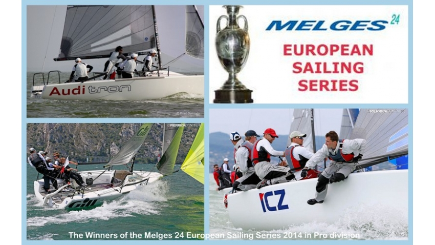2014 Melges 24 European Sailing Series Overall winners