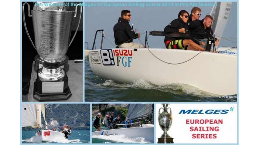 2014 Melges 24 European Sailing Series Corinthian winners