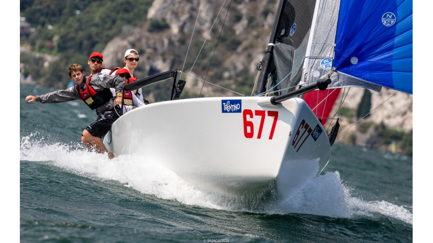 2018 - White Room GER677 - Melges 24 European Sailing Series in Torbole, Italy