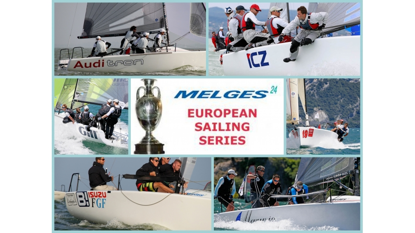 2014 Melges 24 European Sailing Series - winners