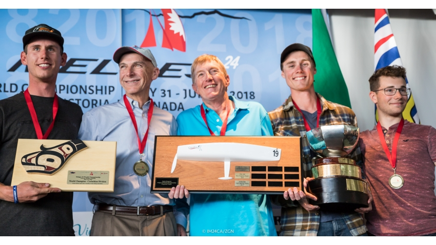 2018 Melges 24 Corinthian World Champion - Robert Britten CAN415 Full Circle