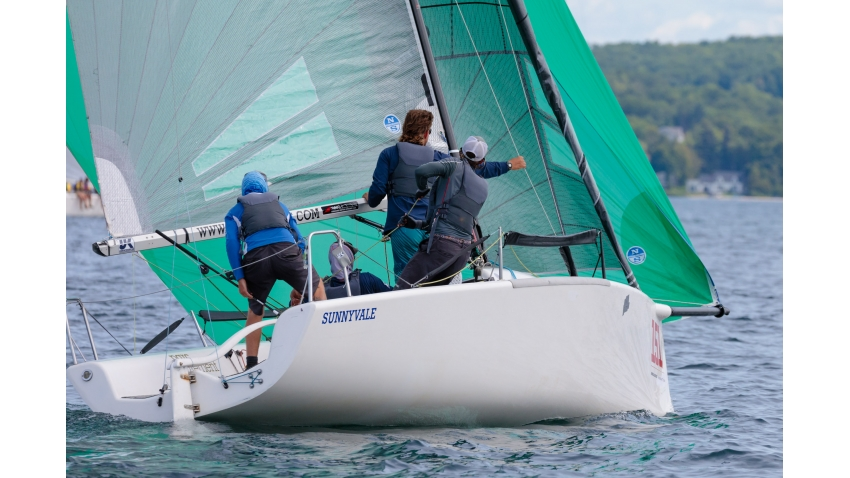Fraser McMillan's Sunnyvale CAN151 at the 2019 Melges 24 North American Championship