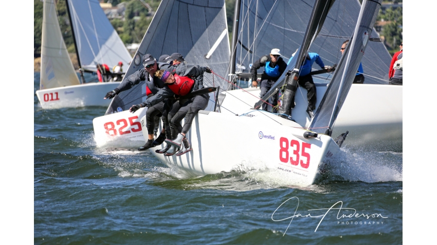 2017 Melges 24 North American Champion - Mikey USA835 of Kevin Welch