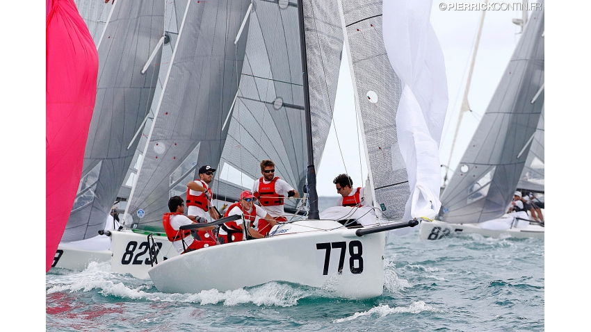 Taki 4 ITA 778 of Marco Zammarchi - Melges 24 Corinthian World Champion 2016