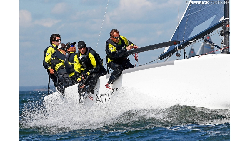 2017 Melges 24 World Champion - Maidollis ITA854 of Gianluca Perego with Carlo Fracassoli at the helm - Helsinki, Finland