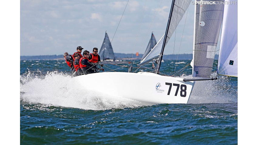 Taki 4 ITA778 at the Melges 24 Worlds 2017 in Helsinki, Finland