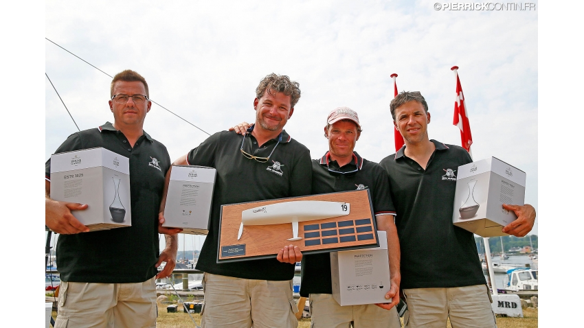 Zarko Draganic Trophy - Jedi Business HUN481 owned by Henrik Hoffmann - 24th in overall at the Melges 24 World Championship 2015 in Middelfart, Denmark