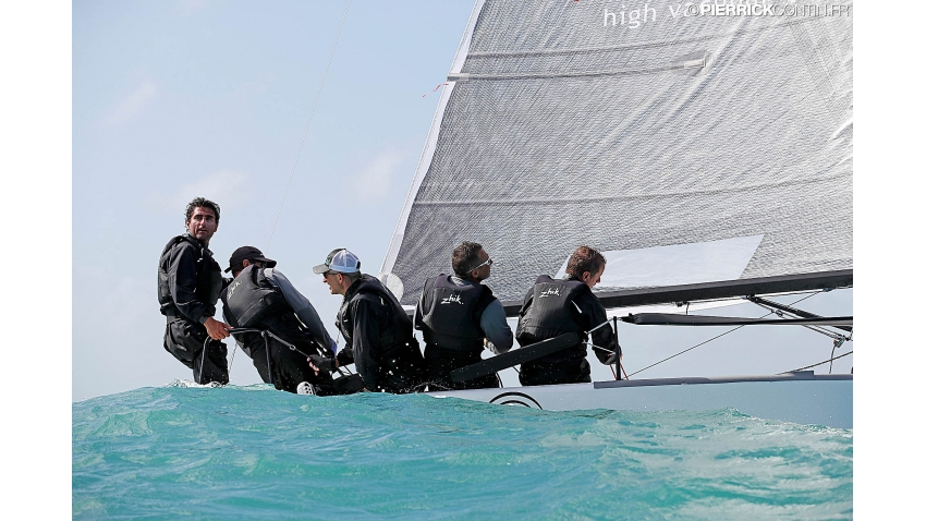 2016 Melges 24 Worlds Runner-up - Maidollis ITA854 of Gianluca Perego with Carlo Fracassoli at the helm - Miami USA