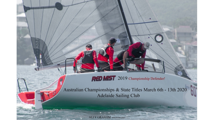 2020 AUS Melges 24 Nationals cover photo