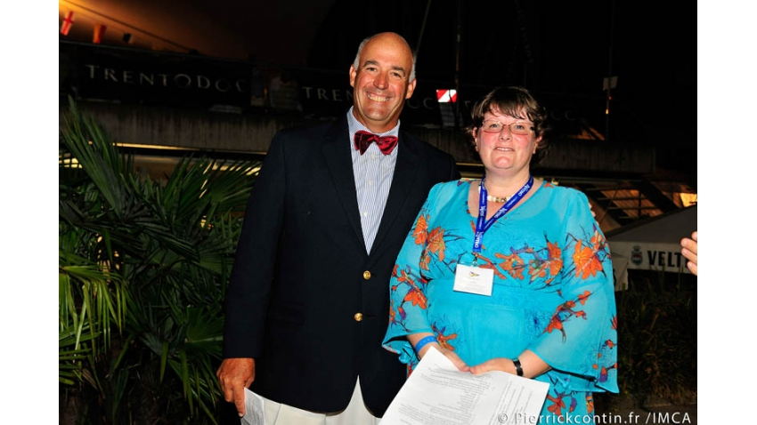 Hank Stuart and Fiona Brown - 2012 Melges 24 World Championship - Torbole, Italy