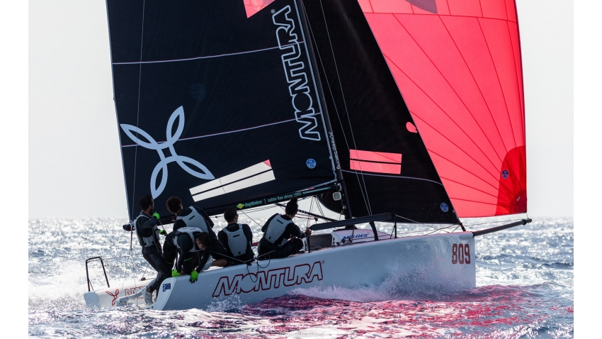 Arkanoe by Montura of Sergio Caramel at the 2019 Melges 24 Pre-Worlds in Villasimius, Sardinia, Italy