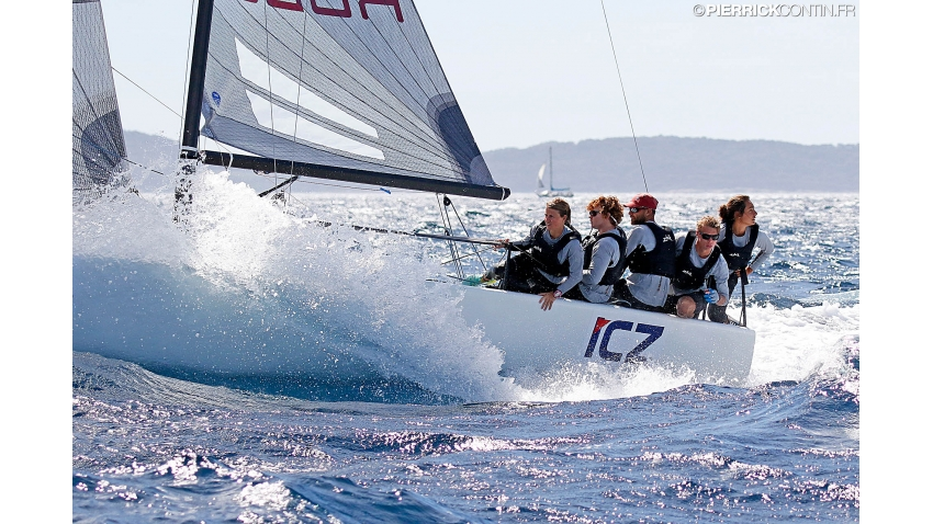ICZ Rodop CZE704 of Martin Trcka at the 2016 Melges 24 Europeans in Hyeres, France