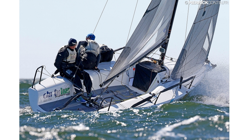 Lucky Dog / Gill Race Team USA848 of Travis Weisleder - 2016 Melges 24 World Championship - Miami, FL, USA