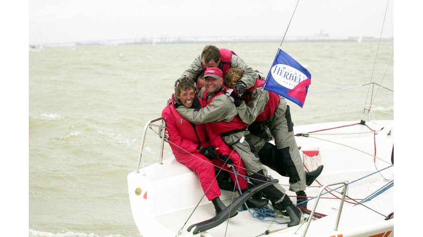 Ale Ali ITA139 of Giorgio Zuccoli - 2000 Melges 24 World Champion - La Rochelle, France