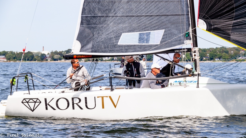 Tiit Vihul and Rock City team at the 2019 Melges 24 Estonian Melges 24 Championship