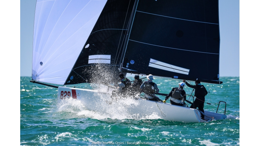 Raza Mixta USA829 of Peter Duncan with Victor Diaz de Leon, Matteo Ramian, Carlos Robles, Willem Van Waay - 2020 Bacardi Cup Invitational Regatta