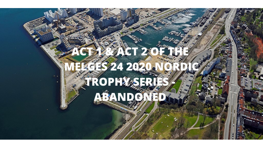 ACT 1 & ACT 2 OF THE MELGES 24 2020 NORDIC TROPHY SERIES - ABANDONED DUE TO THE COVID-19
