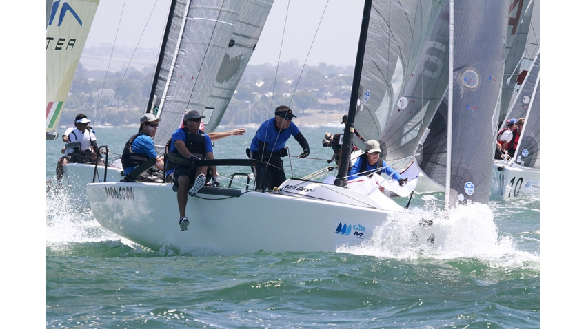 Monsoon of Bruce Ayres at the Gill World Championship 2014 in Geelong, Australia