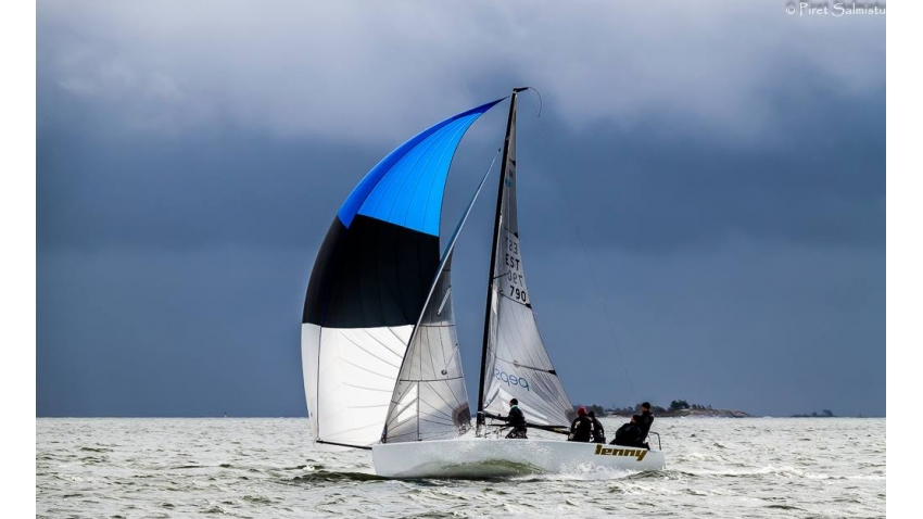 Lenny EST790 at the 2015 Melges 24 Finnish Championship