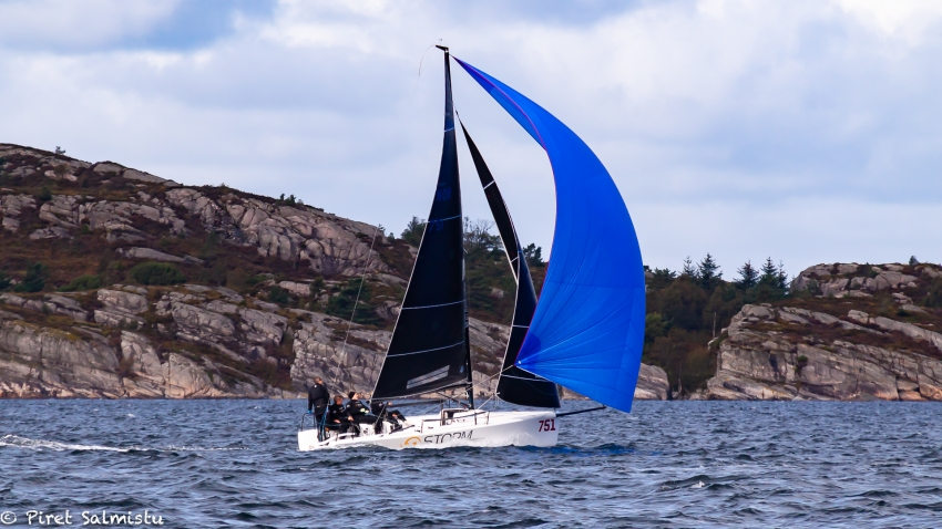 Storm Capital Sail Racing NOR751 with Peder Jahre, Pål Tønneson, Ane Gundersen, Sivert Denneche and Marius F. Orvin - 2019 Melges 24 Norwegian Champion